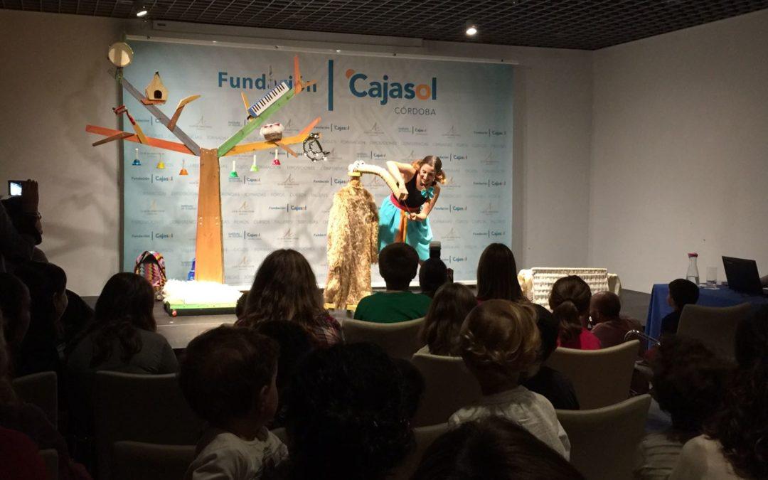 Teatro: 'El Espejo Azul' potencia la inteligencia emocional infantil en la sede cordobesa de la Fundación Cajasol