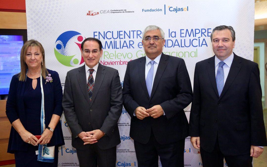 La Fundación Cajasol colabora en el Encuentro de la Empresa Familiar en Andalucía