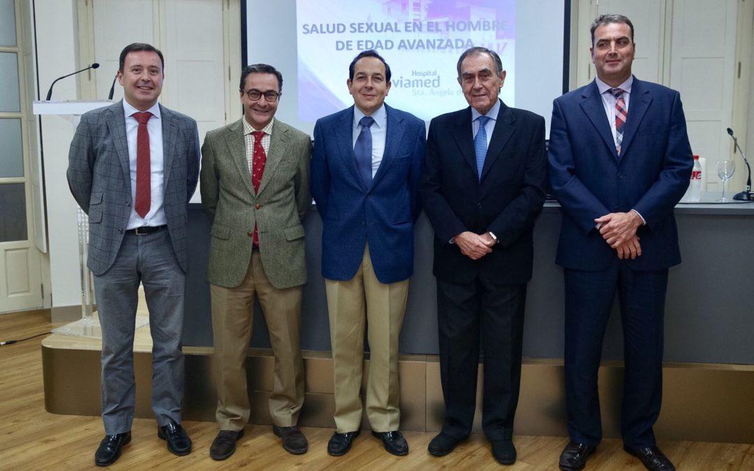 Conferencia sobre 'Salud sexual en el hombre de edad avanzada' dentro del Aula Salud Viamed desde la Fundación Cajasol
