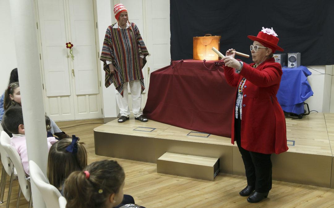Fin de semana de teatro infantil en la Fundación Cajasol de la mano de Teatro Circo 'La Plaza'