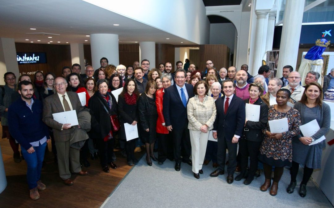 Fundación Cajasol, Obra Social la Caixa y Junta de Andalucía firman las ayudas a Proyectos de Iniciativas Sociales en Andalucía