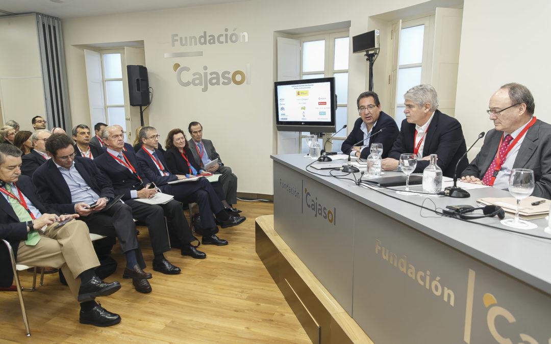 La Fundación Cajasol acoge las tertulias Hispano-Británicas en Sevilla