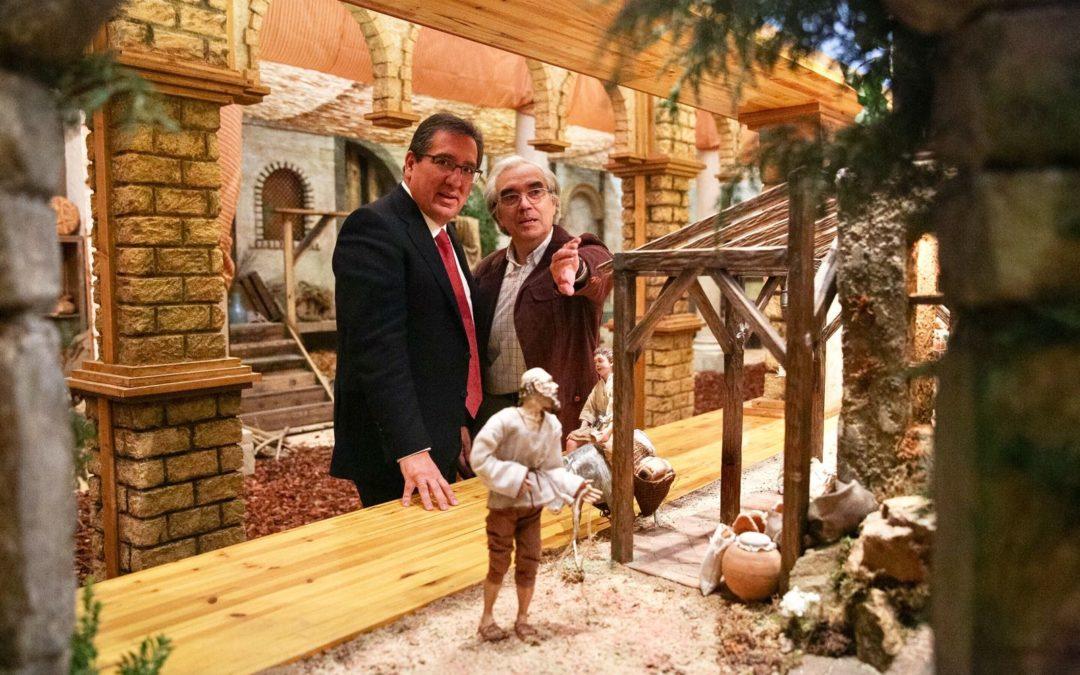 La Fundación Cajasol sorprende esta Navidad con su nuevo Belén en Sevilla y una impresionante experiencia virtual