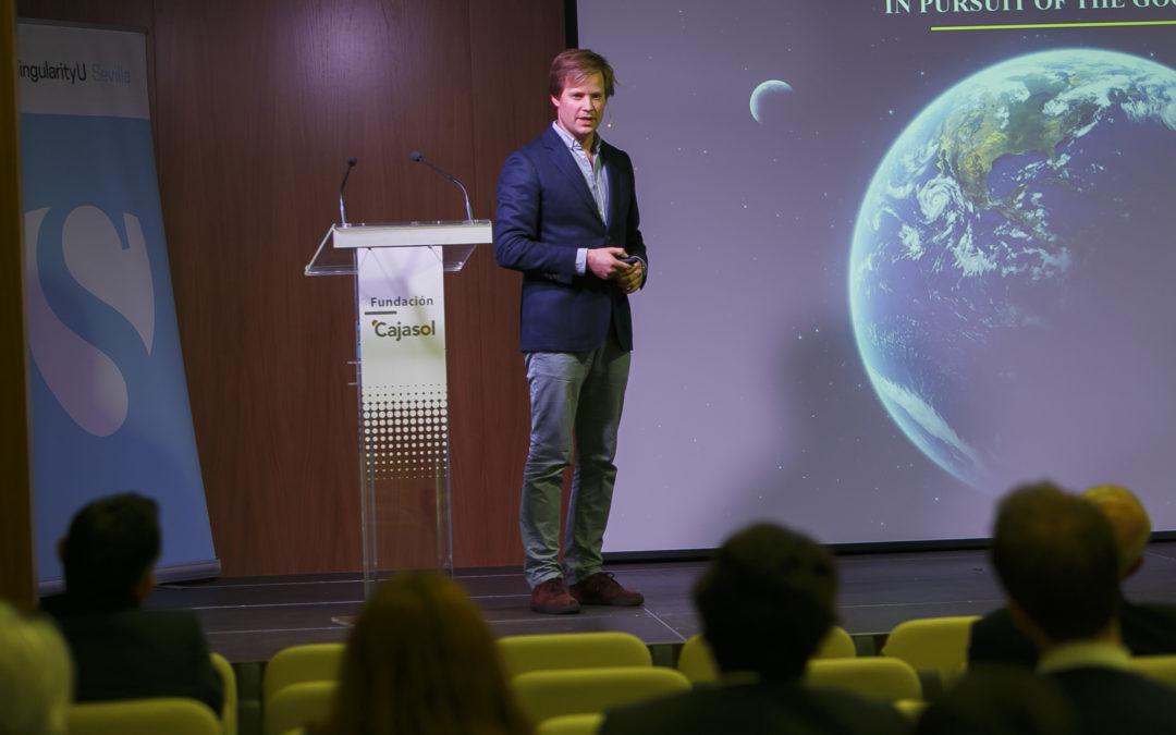 Diederick Croes cierra el ciclo de conferencias del Capítulo de SingularityU Sevilla en 2016