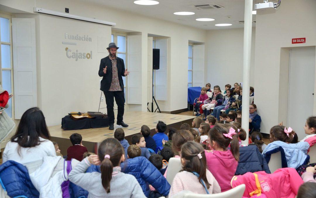 La Fundación Cajasol acerca la tradición oral andaluza al alumnado de Educación primaria