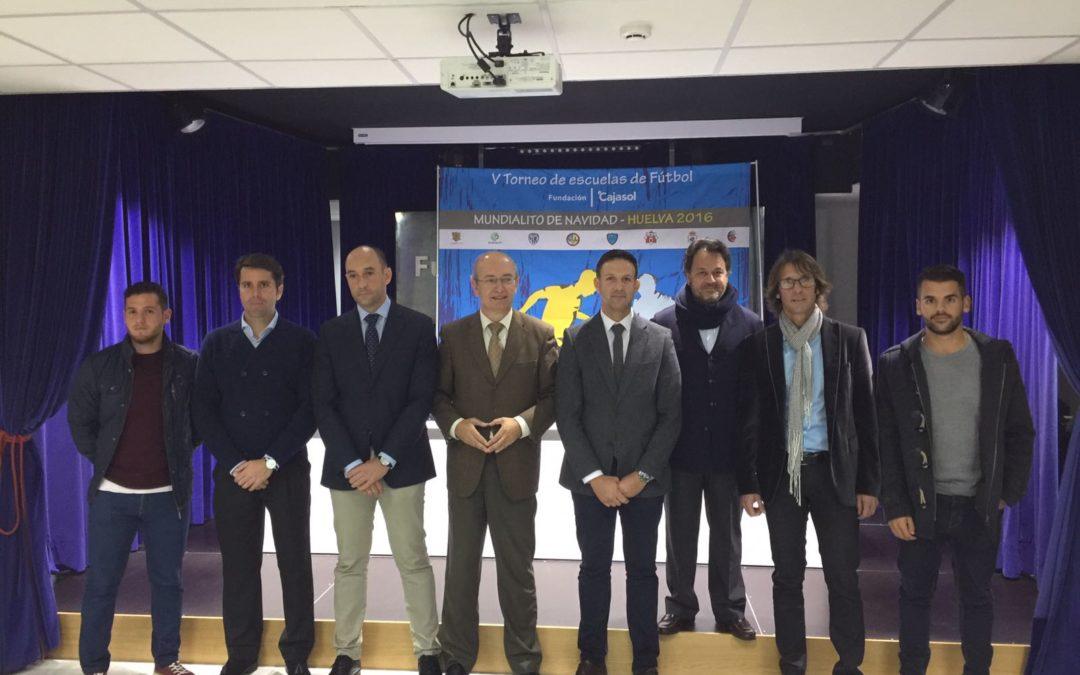 El V Mundialito de Navidad de la Fundación Cajasol se celebra el 17 de diciembre en Huelva