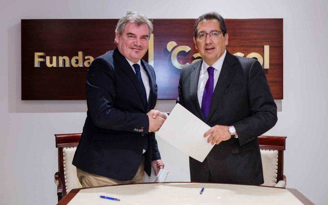 Fundación Cajasol y Cádiz Club de Futbol promueven el deporte base como una forma sana de educar en valores