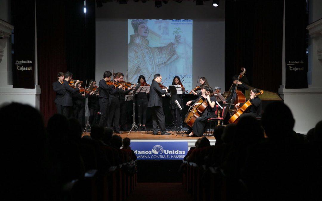 I Gala Solidaria Manos Unidas de la Parroquia de San Vicente en la Fundación Cajasol