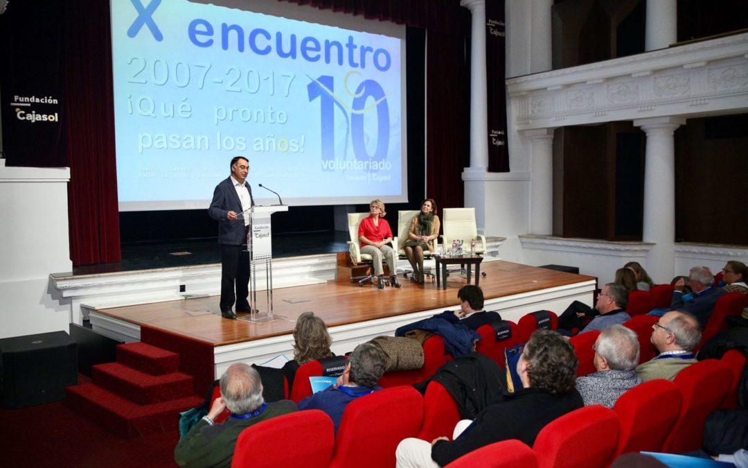 X Encuentro del Voluntariado de la Fundación Cajasol: '10 años pasan pronto'