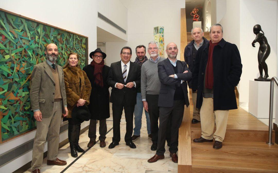 La Escultura de la Colección de Arte de la Fundación Cajasol abre la nueva temporada de exposiciones en la Sala Murillo