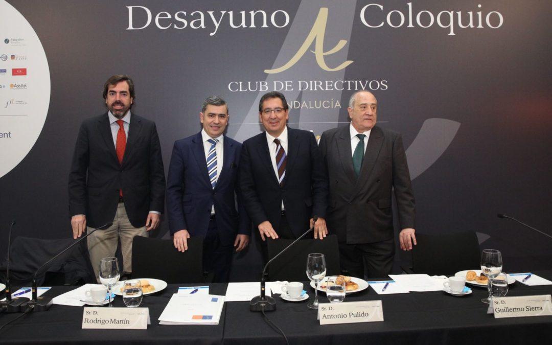 Desayuno-Coloquio del Club de Directivos Andalucía con Rodrigo Martín Velayos, Presidente Ejecutivo de Randstad