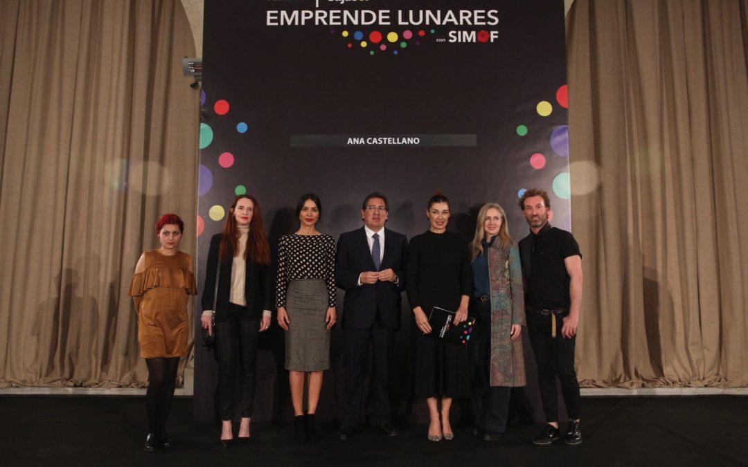 Desfile de moda flamenca 'Emprende Lunares' en la Fundación Cajasol