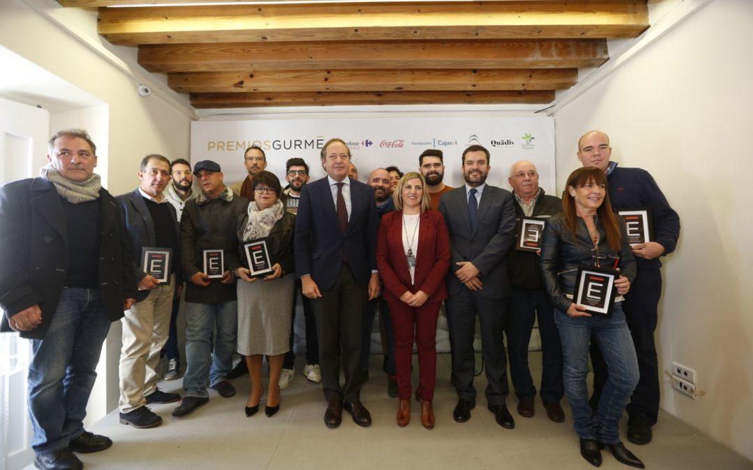 Entrega de los I Premios Gurmé Cádiz en la Fundación Cajasol