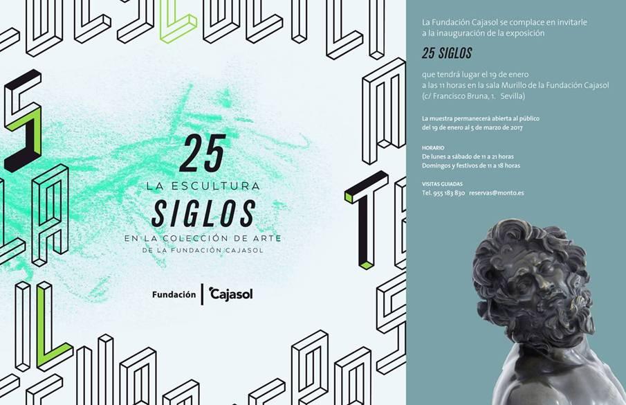 La Sala Murillo de la Fundación Cajasol inaugura el nuevo año con una exposición de esculturas