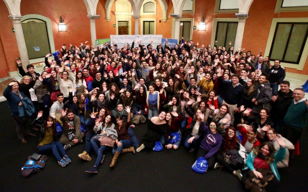 Los jóvenes siguen tomando conciencia de que en el voluntariado 'sí que faltan'