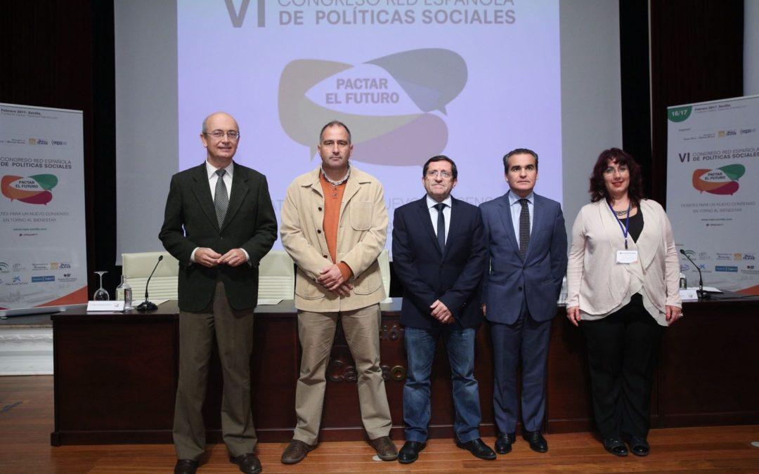 VI Congreso de la Red Española de Política Social en la Fundación Cajasol