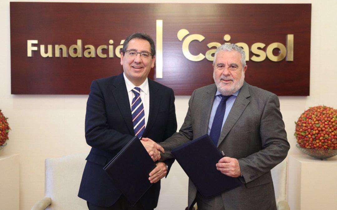 La Fundación Cajasol renueva su colaboración con Canal Sur para la difusión y puesta en marcha de actividades culturales en Andalucía
