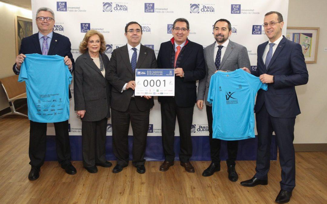 La III Carrera Popular de la Universidad Pablo de Olavide, el 25 de marzo