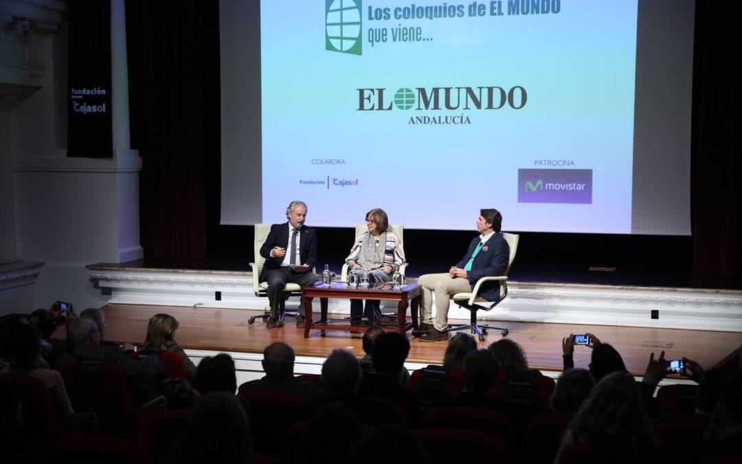 Los retos de la Educación en Andalucía en 'Los coloquios de EL MUNDO que viene' desde la Fundación Cajasol