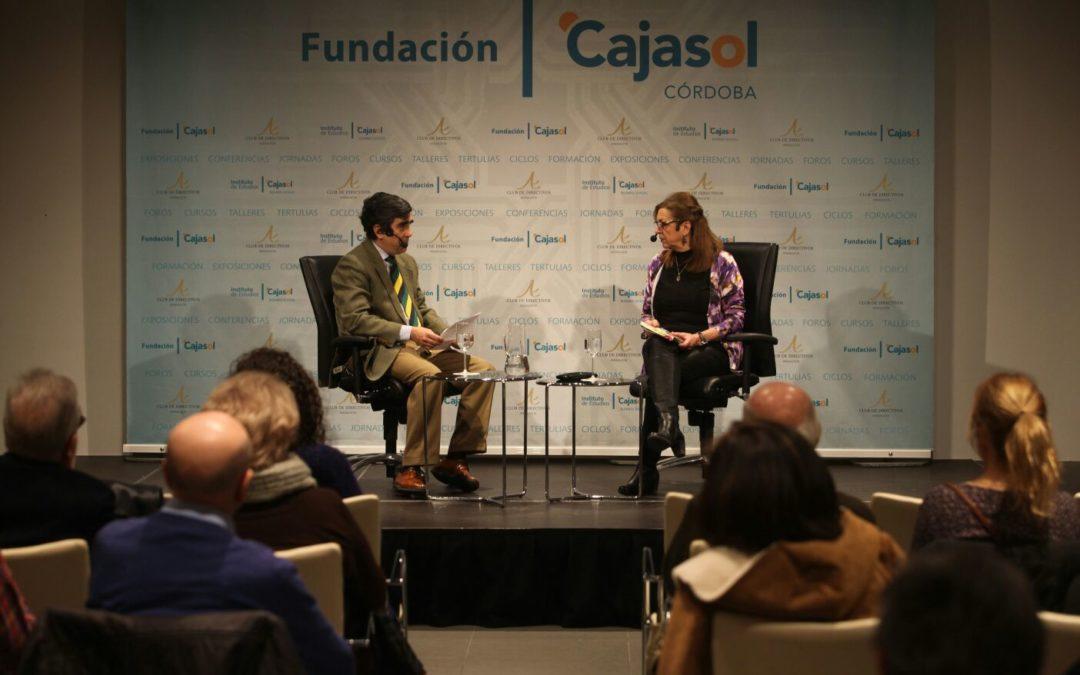 Conferencia de Matilde Cabello para inaugurar el ciclo 'suma y sigue por Córdoba' de la Fundación Cajasol