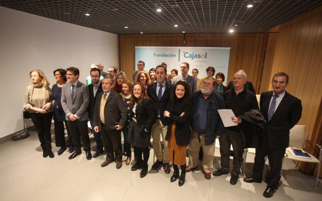 Una treintena de fundaciones cordobesas celebran un encuentro en la Fundación Cajasol