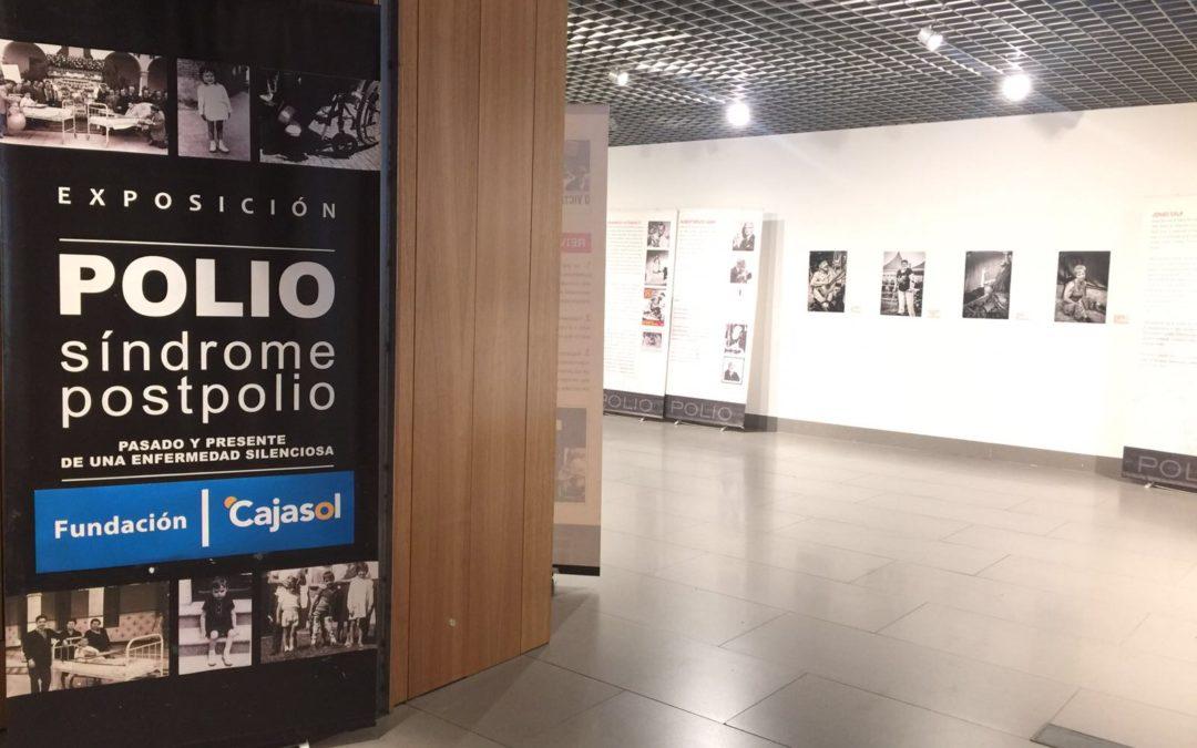 La Fundación Cajasol abre sus puertas para acoger la exposición 'Rostros de la Polio. Pasado y presente de una enfermedad desconocida' en Córdoba