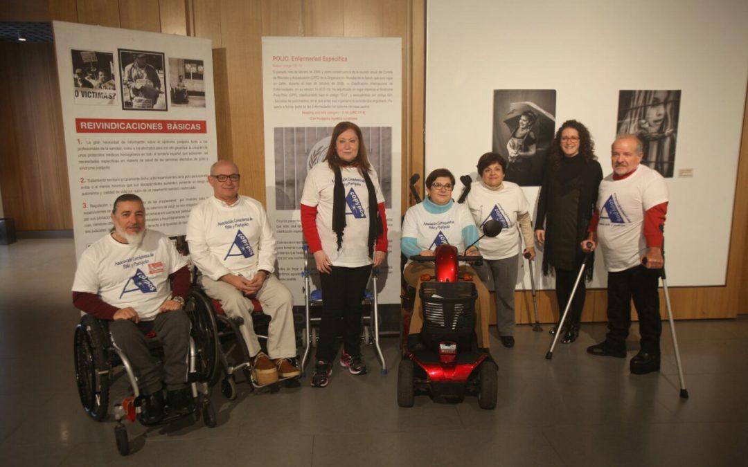Conoce qué es la Post-Polio de la mano de la Asociación Acopypos en la sede de la Fundación Cajasol en Córdoba