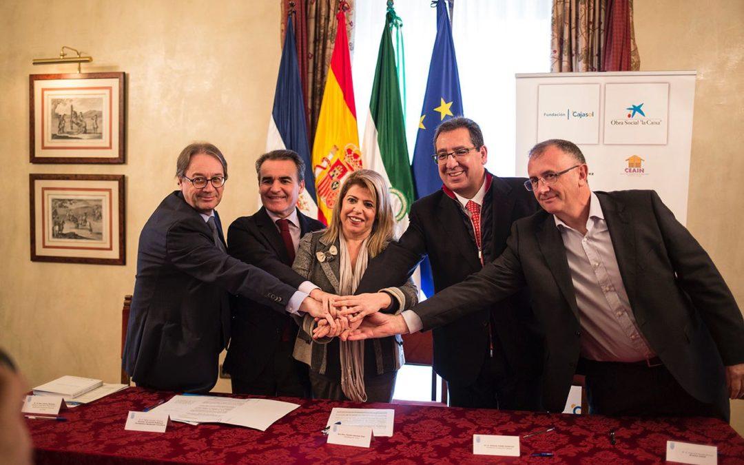 La Fundación Cajasol sigue contribuyendo a garantizar la continuidad del proceso comunitario intercultural impulsado en la Zona Sur de Jerez