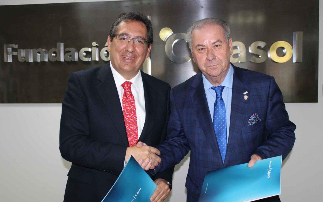 La Fundación Cajasol reafirma su apoyo a la Semana Santa de Huelva