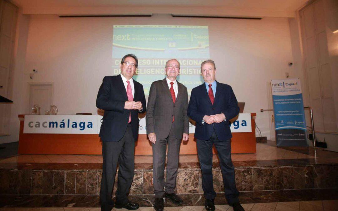 Antonio Pulido participa en el II Congreso Internacional de Inteligencia Turística en Málaga