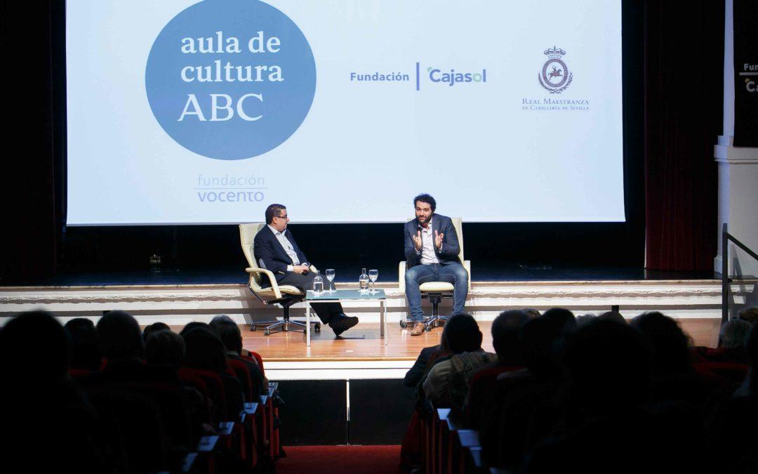Alfonso Sánchez protagoniza una nueva sesión del Aula de Cultura de ABC en la Fundación Cajasol