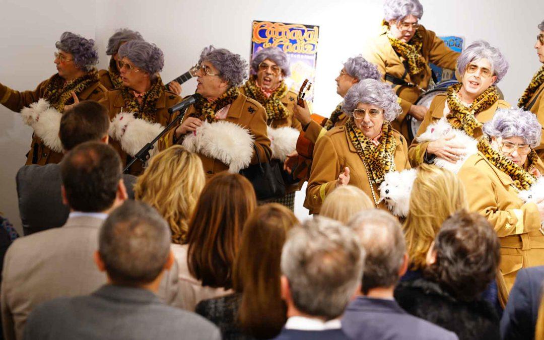 Broche de oro a la programación de Carnaval de la Fundación Cajasol en Cádiz con una entretenida gala carnavalesca