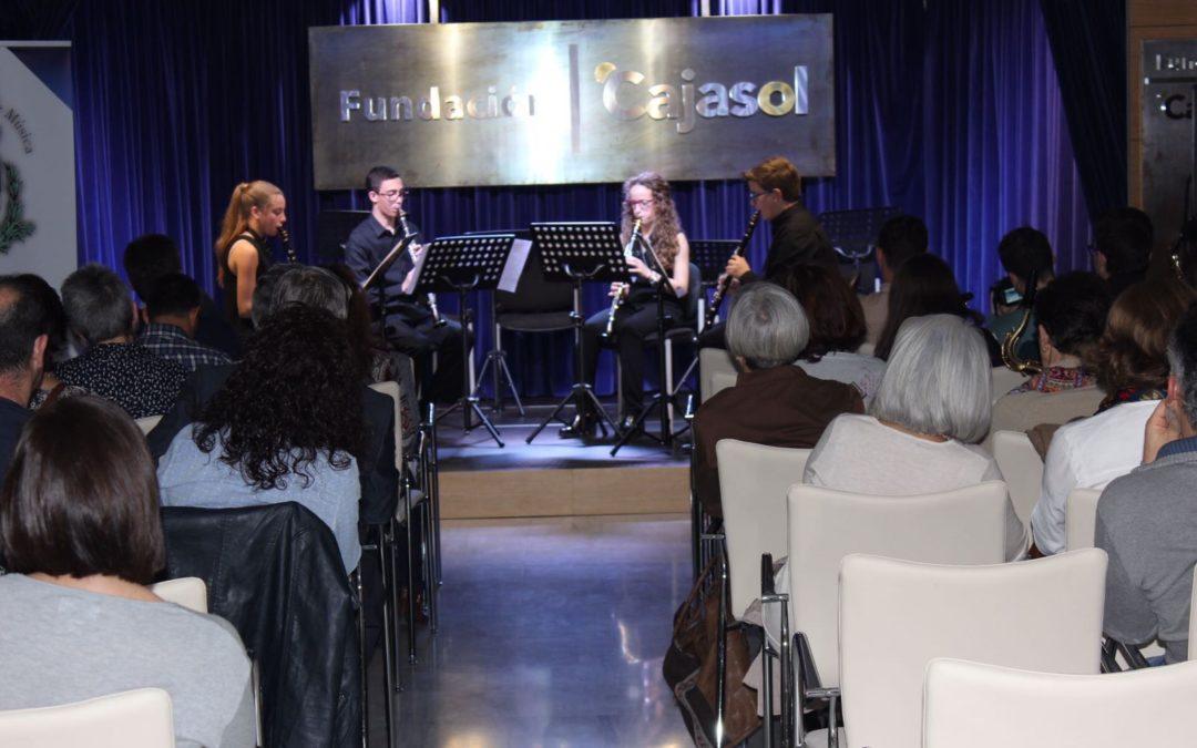 Música de cine y clásicos de la mano de la Escuela de Lepe en 'Los Jueves en la Cuarta' de la Fundación Cajasol en Huelva