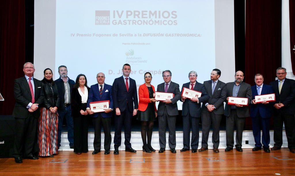 Entrega de los IV Premios Gastronómicos Fogones de Sevilla en la Fundación Cajasol