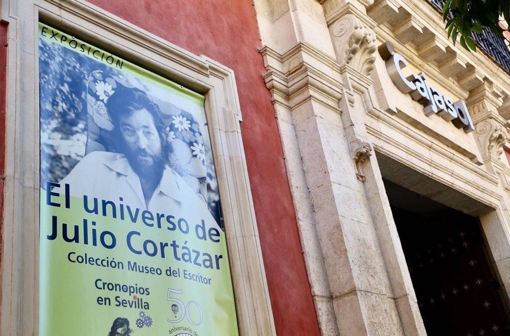 La Fundación Cajasol trae 'El universo de Julio Cortázar' a la Sala Murillo