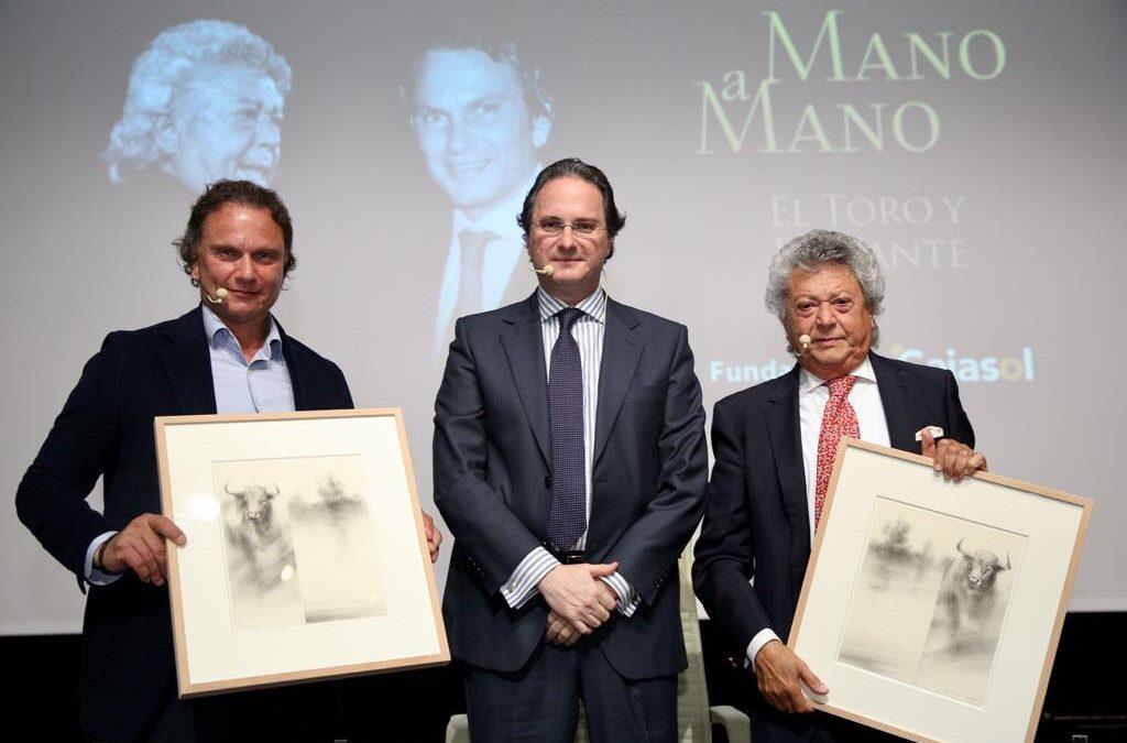 Julio Aparicio y 'Pansequito', protagonistas del 43º Mano a Mano en la Fundación Cajasol