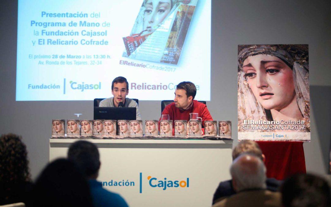 La Fundación Cajasol presenta su programa de mano de la Semana Santa 2017 'El Relicario Cofrade' en Córdoba