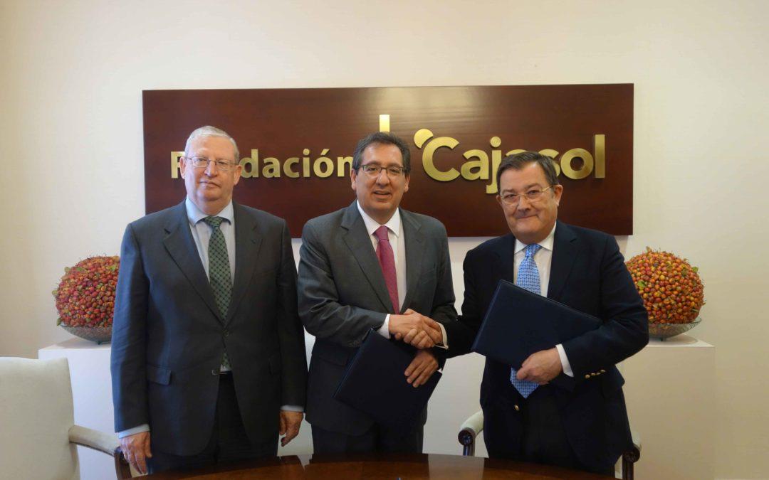 La Fundación Cajasol mantiene su compromiso con la Semana Santa a través del acuerdo con el Consejo General de Hermandades y Cofradías de Sevilla