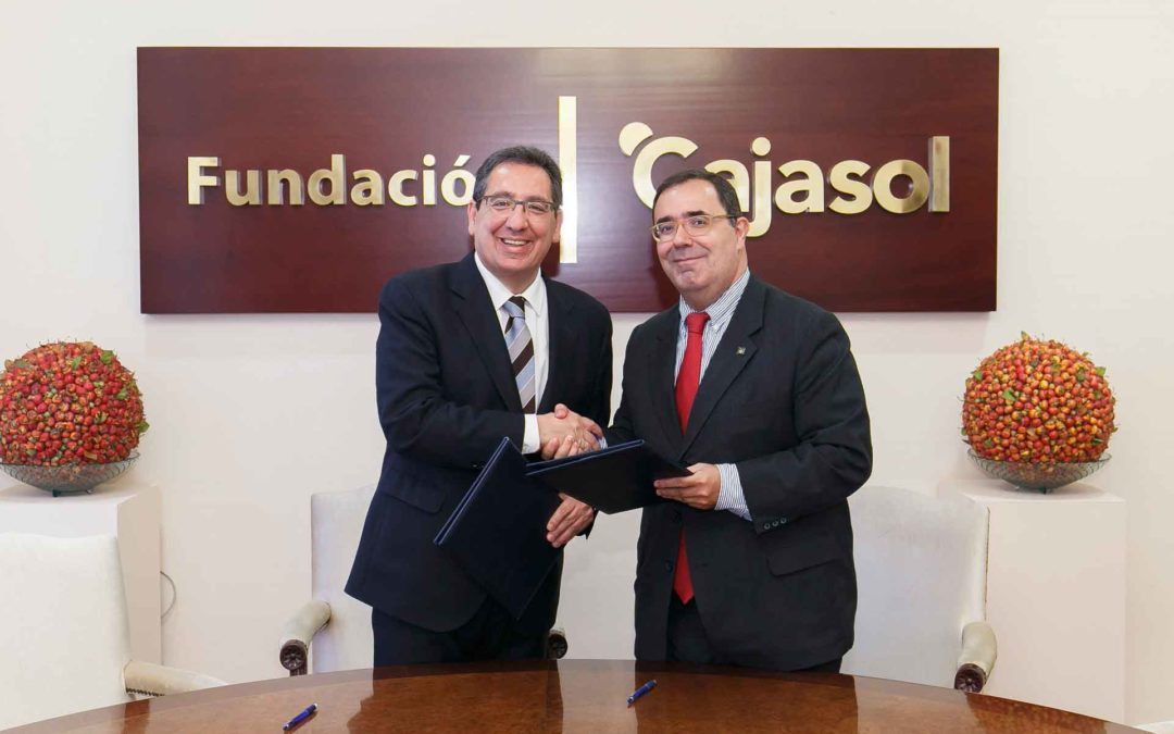Más de una década de colaboración entre la Fundación Cajasol y la Universidad Pablo de Olavide
