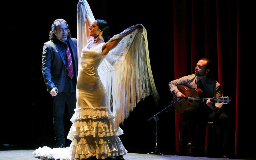 Mercedes Ruiz, David Lagos y Santiago Lara muestran la esencia del flamenco en el cante, el baile y la guitarra