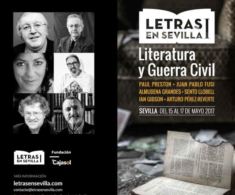 'Literatura y Guerra Civil', cita en Sevilla del 15 al 17 de mayo