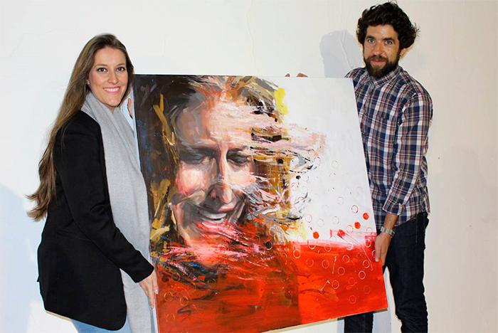 Esta es la pintura ganadora del concurso para la portada del nuevo disco de 'Argentina', que publicará el 12 de mayo