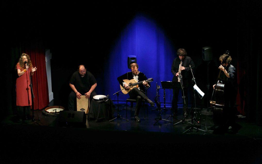 Tino Van der Sman deja su sello en los Jueves Flamencos de la Fundación Cajasol