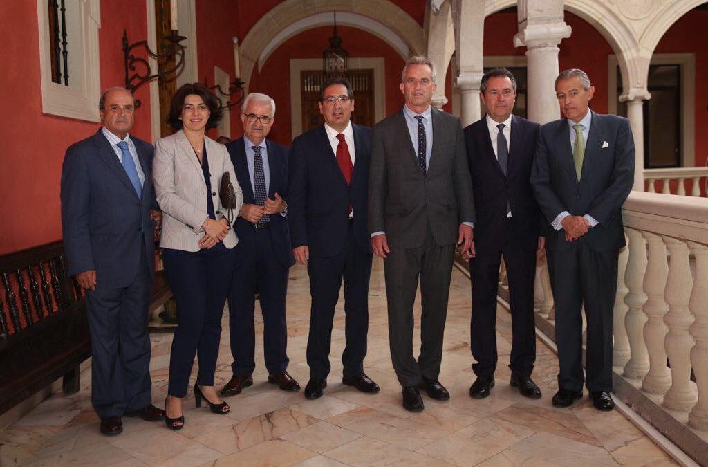 Desayunos Informativos de Europa Press con Robert F. Kennedy Jr. desde la Fundación Cajasol