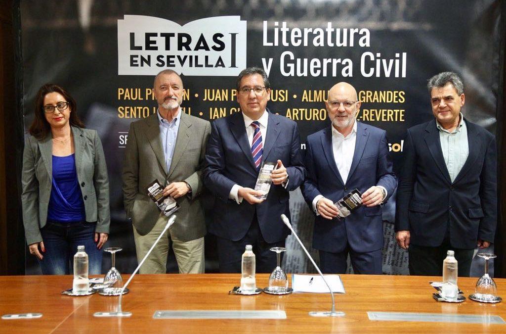 Letras en Sevilla: Los principales historiadores y autores a nivel nacional e internacional se dan cita en el nuevo ciclo de la Fundación Cajasol
