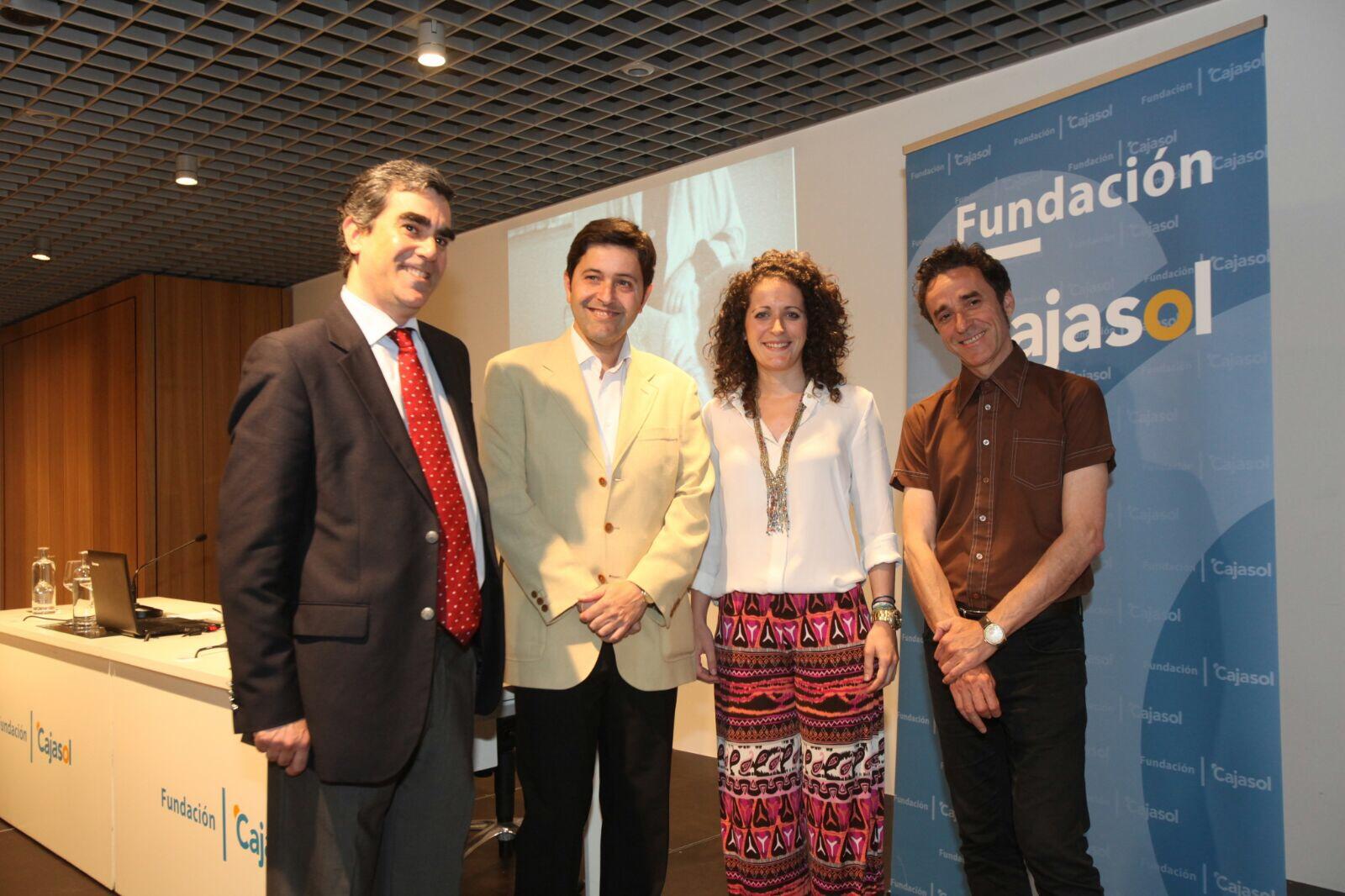 Conferencia sobre Manolete en la Fundación Cajasol (Córdoba)