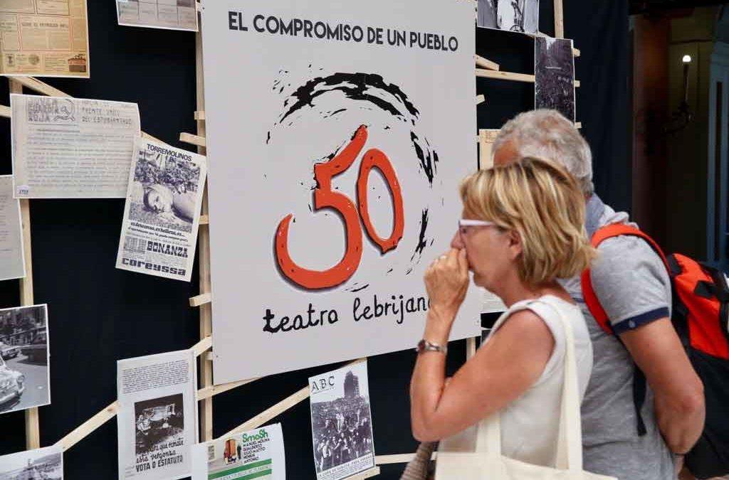 La Fundación Cajasol se suma al 50 aniversario de Teatro El Lebrijano
