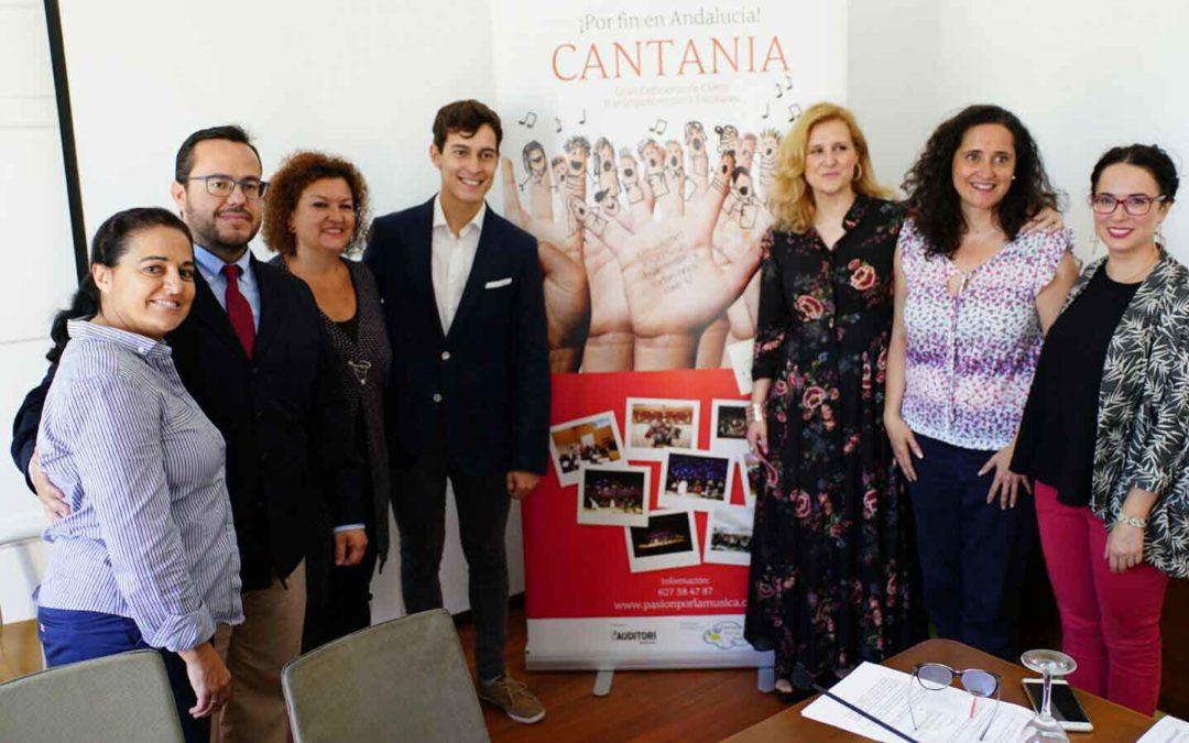 Cantania Andalucía 2017 arranca este fin de semana en el Gran Teatro Falla de Cádiz con la colaboración de la Fundación Cajasol