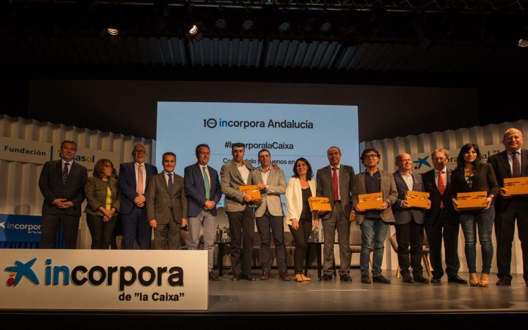 Obra Social 'la Caixa' y Fundación Cajasol, una década facilitando 17.068 empleos a andaluces en riesgo de exclusión con el programa 'Incorpora'