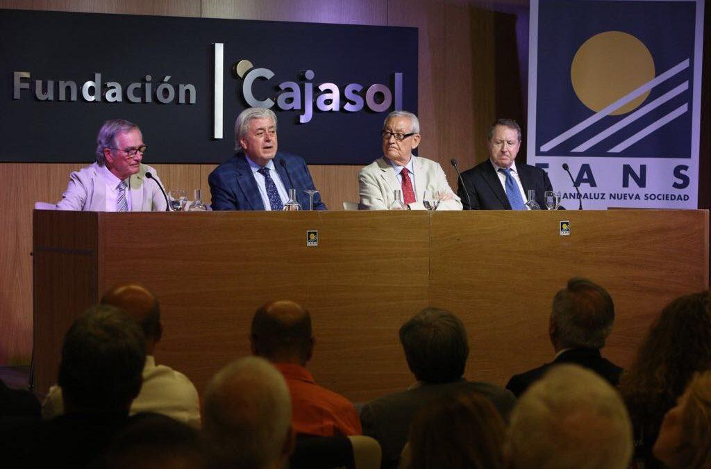 El Foro Andaluz Nueva Sociedad organiza debate constructivo sobre la situación actual de Cataluña y las perspectivas de su futuro desde la Fundación Cajasol